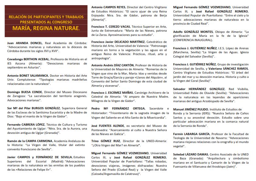 Relación de participantes en el Congreso_001